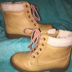 Youth girls fall boots
